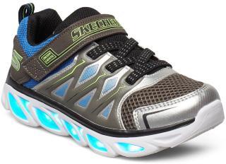 Skechers Boys S Light - Hypno-Flash 3.0 Sneakers Sko Blå Skechers