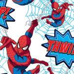 Kids at Home Veggpanel Spiderman Thwipp hvit DF73299