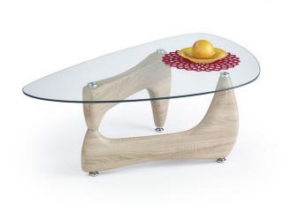 Picone Sofabord 119x68 cm Glass - Eik