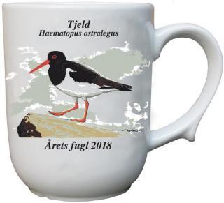 Tjeld krus Årets fugl 2018