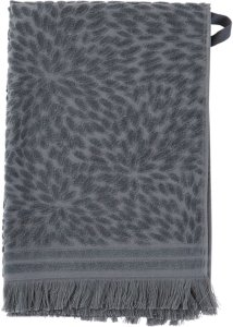 Ellos Håndkle Cora 50x70 cm Unisex Grey/blue