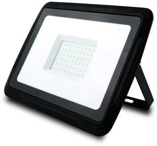LED-strålkastare, 50W 4500K, Svart