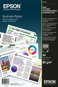 EPSON BUSINESS PAPER 80GSM 500 SHEETS CONSUMABLES: A4.80G/M SUPL (C13S450075)