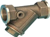 Csslr Plus snavssamler 1½ i rødgods. NBR pakning (GUE168DA). Rustfrit filter (0168)
