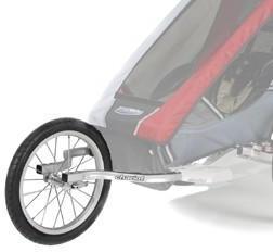 Thule Chariot Cougar2/Cheeta2 Joggesett Består av 2 drag og hjul