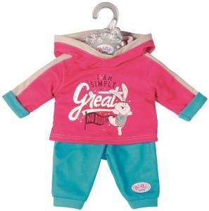 BABY Born Jogging Suit - rosa joggedress til dukke 43 cm