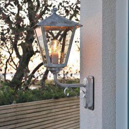 Vegglampe Benu upp Konstsmide Galvanisert, E27