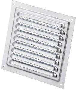 Duka Lamelldeksel 125x125 mm, Aluminium