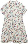 MANGO KIDS Floral Shirt Dress Kjole Hvit MANGO KIDS