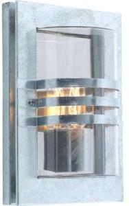 Elektro-Armatur Ekeberg utelampe vegg galvanisert 1x60w E27 IP44 3100000319 Taklampe / Vegglampe