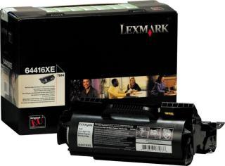 Lexmark Toner Sort 64416XE Ekstra Høykapasitet (32.000 sider) 0064416XE