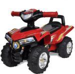vidaXL ATV for barn lyd og lys rød
