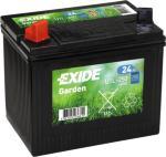 Exide Garden venstre batteri 12V 24Ah