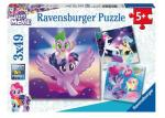 Ravensburger puslespill My Little Pony 3X49